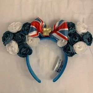 United Kingdom Minnie ears from EPCOT